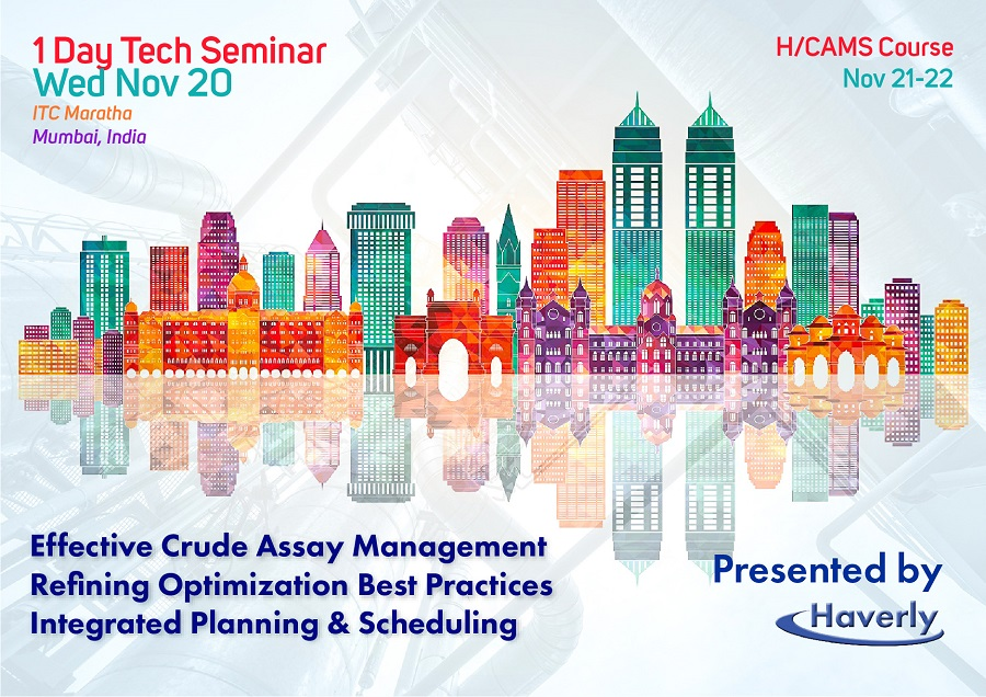 India 1 Day Seminar Refinery Planning Optimization